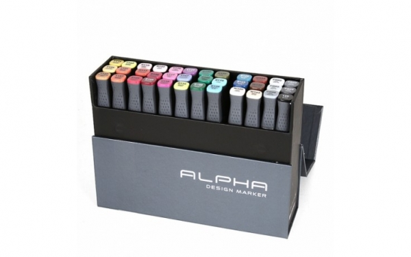 Alpha Design Marker 36ER Colors set