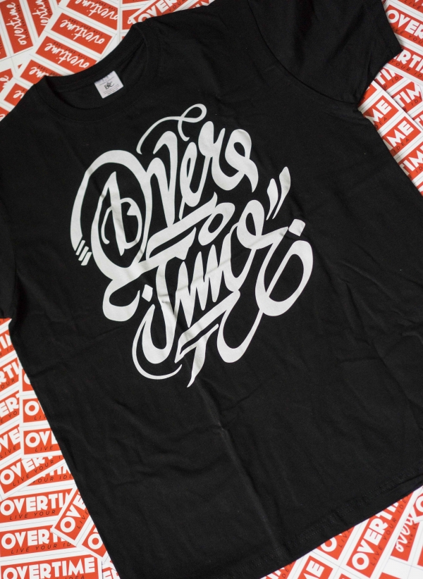 Triko OVERTIME unisex - Design by Canser