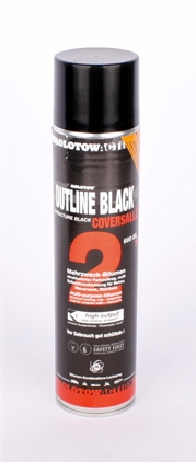 Molotow Coversall 2 outline black-600ml