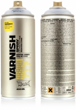 Montana Varnish Spray 400ml - bezfarebný lak