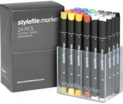 Stylefile 24er marker Main A Set
