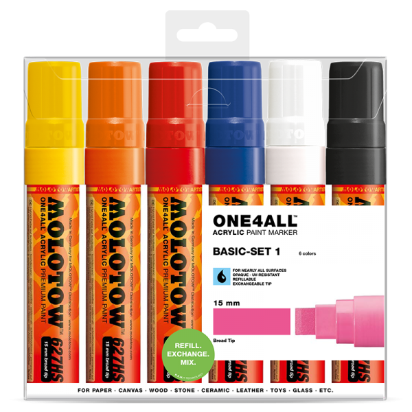Molotow 627hs Basic set 1